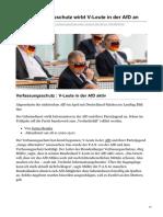 Bender, Justus - Der Verfassungsschutz wirbt V-Leute in der AfD an (28.11.2020, Netz)