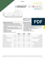 Scheda Tecnica Pompe Di Calore Pluma R32