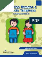 Libro de actividades de 3 a 5 años