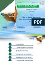 Mise en Place d Une Solution Informatique de Gestion Et de Suivi de Projets (1)