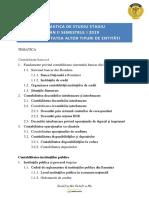 CATI Tematica An II S1 2020