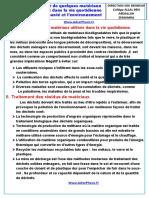 Cours 2 . Danger de Quelques Matériaux (Www.adrarPhysic.fr)