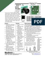 LV-MaxSonar-EZ4-Datasheet