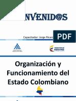 Organización y Funcionamiento Del Estado Colombiano Jorge Ricardo Murcia Morales