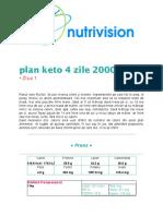 Plan Keto 4 Zile 2000.Docx