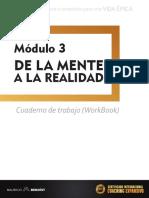 Módulo 3 - De la mente a la realidad