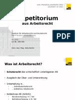 Repetitorium Arbeitsrecht Juridicum Wien