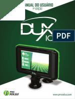 Manual Dux 10 Pro Solus