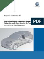 VW SSP 582 - Le Systeme de Post-traitement Des Gaz Dechappement Reduction Catalytique Selective Du Touareg 2019