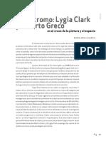 Maria Amalia Garcia Monocromo Lygia Clar