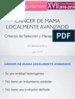 Cancer Mama Localmente Avanzado