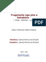 Fragmente nga jeta e Sahabeve