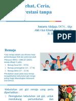 Presentasi Seminar 30 Januari 2021_ANEMIA REMAJA