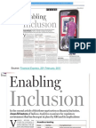 Enabling Inclusion