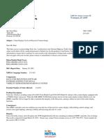 Tesla Recall Letter 134951 Model S Model X
