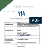 Attribution Definitive de Marche Prestations d Ingenierie Pour Suivi Et Du Controle Ic Akjoujt-chami Et Des Postes Associes (1)