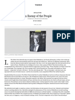 An Enemy of the People_ Finkielkraut, Attacked and Defended - Paul Berman