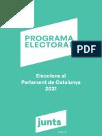 Programa electoral de Junts pel 14-F