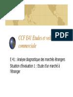Consignes CCF E41