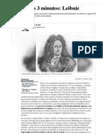 Leibniz - Filosofía en 3 minutos_ Leibniz _ Perfil