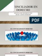 Presentación El Conciliador en Derecho