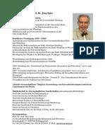 Prof. Spitz Info
