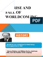 corporate scam rise and fall of world com