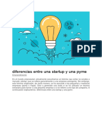 pyme y startup