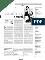Por Uma Questão Ética e Moral