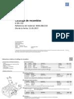 DESPIECE ZF E071903