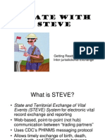 """A Date with Steve"" STATES SHARING ALL KINDS OF INFORMATION ABOUT YOU"