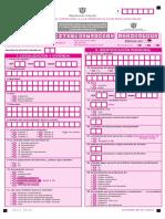 formulario dane