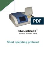 SOP for LisaScan II