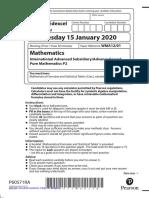 IAL-Edexcel-Pure-Math2-Jan-2020