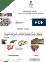 Cadeia produtiva e abate de pescado