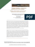 Extrativismo mineral conflitos e resistências no Sul Global
