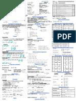 Формулы для ЕГЭ Математика(Як)