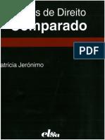 Patrícia Jerónimo - Lições de Direito Comparado (2014)