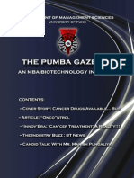 The PUMBA Gazette - January 2011 Edition