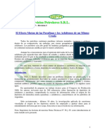 Efectos de las parafinas y Asfaltenos de un mismo crudo