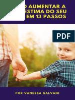 Ebook Como aumentar a autoestima do seu filho em 13 passos