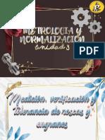 Medición, verificación y tolerancia de roscas y engranes de La Unidad 3