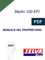 Manuale Selva Marine Marlin 100 EFI ITA