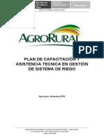 PLAN DE CAPACITACION AGRORURAL