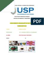 formulas farmaceuticas---organolepticas
