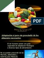1. Alimentos Necesarios PARA LA SALUD