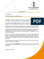 2021-02-03- Communique Point de Situation Programme de Vols
