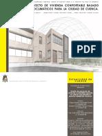 Tesis_diseño de Proyecto de Vivienda Confortable Basado en Criterios Bioclimáticos Para La Ciudad de Cuenca. Diego Machado Torres_ismael Cherréz Clavijo