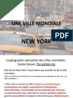NY Ville Mondiale 1ère