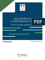 Les données_performance 2018, Résultats de l'année 2017, Budget Etat Francais